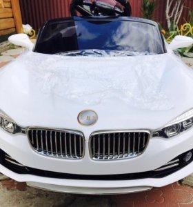Электромобиль BMW на Пульт управлении