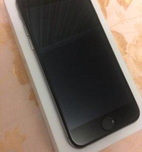 iPhone 6 Space grey/ Идеальное состояние/ Комплект