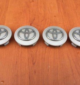 Колпачки на литьё Toyota