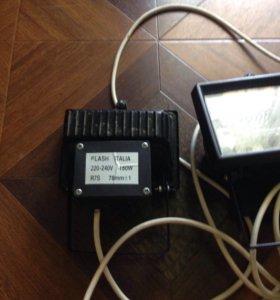 Прожектор галогенный 2 шт