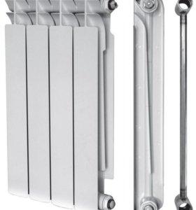 Биметаллические радиаторы отопления Тепловат