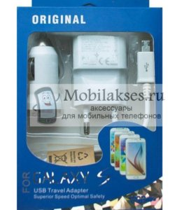 Зарядное устройство Samsung 3 в 1