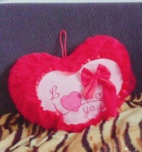 Подушка сердечко