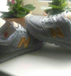 Новые кроссовки New Balance(37,38)