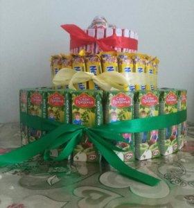 Торт из сладостей!