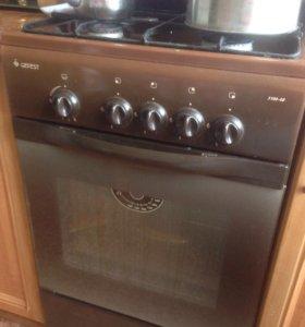 Плита кухня газовая Гефест кухонная