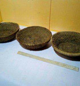 корневые тарелки 3 шт.