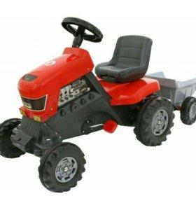 Трактор с полуприцепом