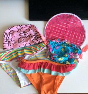 Шапочки для плавания и плавки