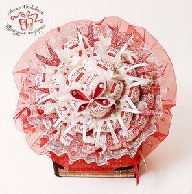 """Букет с конфетами Рафаэлло """"Подарок сладкоежке"""""""