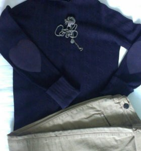 Twin- set кофта с капюшоном.