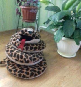 Змея...большая