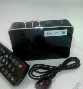 Автомобильная приставка DVB-T2 для авто. TV-тюнер.