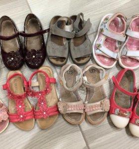 Кеды, босоножки, сандали