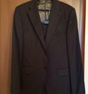 Новый Итальянский мужской костюм класса премиум