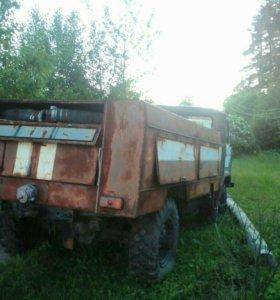 Пожарная сельская машина Газ 66
