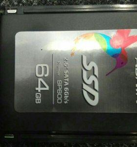 Продам ссд диск 64гб
