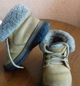 Ботиночки детские зимние.