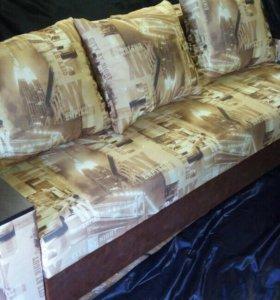 Новый диван еврокнижка