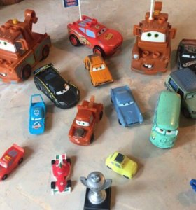 Машинки из мульф. Тачки и Тачки 2 (24шт)