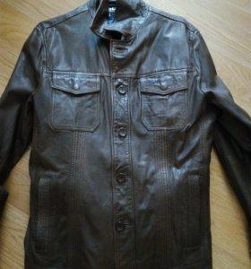 Кожаная куртка Mystang