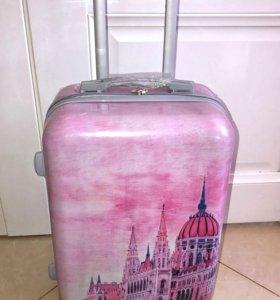чемодан новый шуба норковая