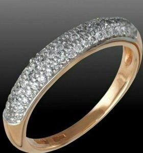 Золотое кольцо Адамас