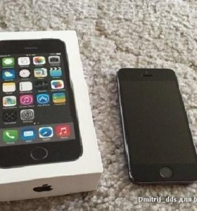 iPhone 5s Space Gray 16GB Обмен