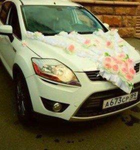 Лента для украшения свадебной машины