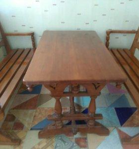 Продам стол и 2лавки.