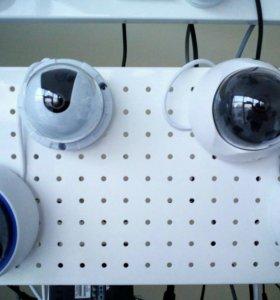 Системы безопасности:видеонаблюдение,домофон,ОПС.