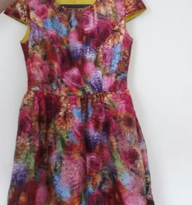 3d Платье из органзы