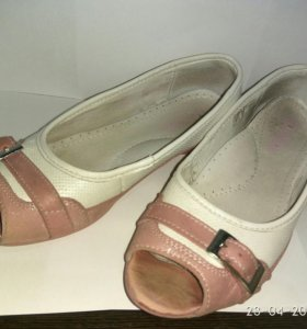 Туфли для девочки, б/у, 33 р-р