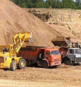 Песок карьерный ГОСТ-23735 с доставкой