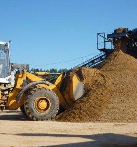 Песок речной ГОСТ 8736 с доставкой