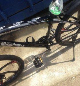 Велосипед на литых дисках. 6 лучей