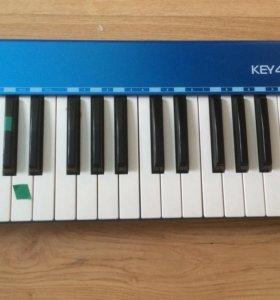 """Миди клавиатура """"Axelvox key49j blue"""""""