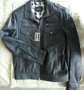 Куртка коженная, новая