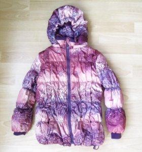 Детская куртка для девочки 6-9 лет