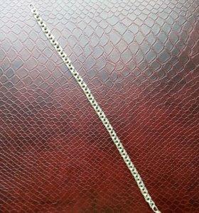 Серебряный браслет, плетение Бисмарк