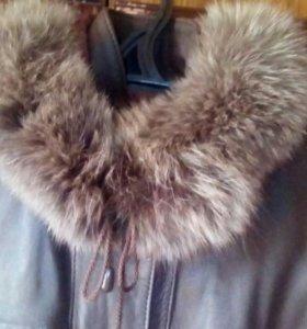 Кожа пальто натуралка