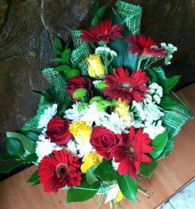 Круглосуточная доставка цветов и подарков