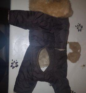 Комбинезон зимний для собаки