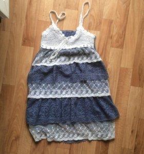 Летнее платье xs