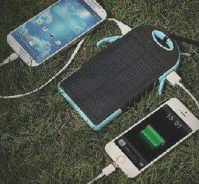 Компактный аккумулятор на солнечных батареях Solar