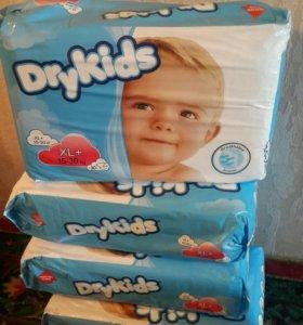 Подгузники Dry Kids