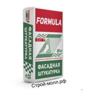 Фасадная штукатурка Formula фасад.