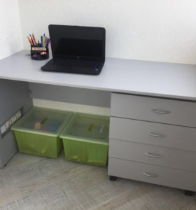 Новый Компьютерный стол, тумба и полки