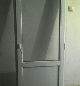 Дверь пласт-я