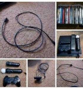 PlayStation3. с 11 играми с камерой